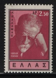 GREECE, 666, HINGED, 1959, COSTIS PALAMAS