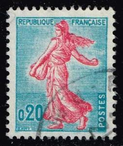 France #941 Sower; Used (0.25)
