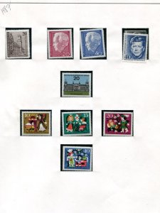 Berlin Collection 1964-1987 Mint VF NH  - Lakeshore Philatelics