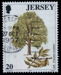 1997 JERSEY SC#812 TREES USED