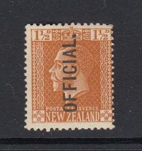 New Zealand, Sc O44 (SG O91), MHR