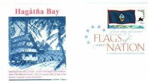 Graebner Chapter AFDCS 4286 Flags Nation Guam COLOR CXL Hagatna Bay