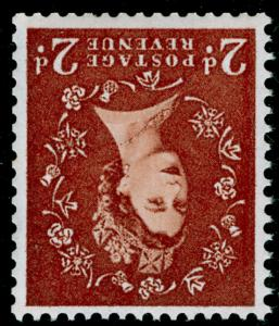 SG573Wi, 2d light red-brown, NH MINT. Cat £140. WMK INV