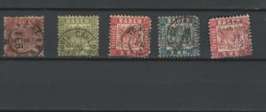 Baden Germany stamps