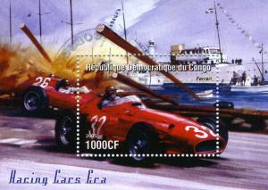 FERRARI RACING CARS (ERA) s/s Perforated Mint (NH)