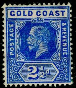 GOLD COAST SG76, 2½d brt blue, UNUSED. Cat £15. WMK MULT CA