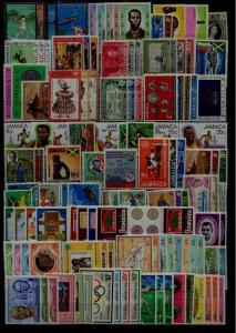 Jamaica MNH lot, SCV80+