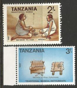 TANZANIA  390-91 MNH T670