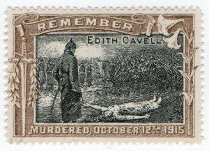(I.B-CKK) Cinderella : Great War Propaganda - Edith Cavell