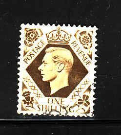 Great Britain 248 U King George VI (C)