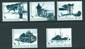 ROSS DEPENDENCY SG104/8 2007 COMMONWEALTH TRANS-ANTARCTIC EXPEDITION   MNH