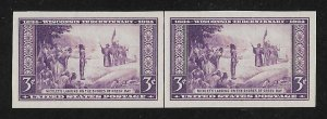 755,MNH pair with vertical line