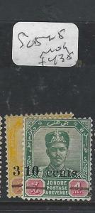 MALAYA JOHORE  (PP0302B)  SULTAN SG  54-5   MOG