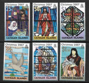 CAYMAN ISLANDS SG1143/8 2007 CHRISTMAS  MNH