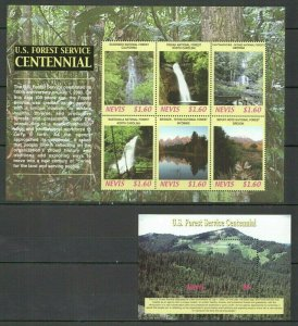 QE697 2005 NEVIS NATURE LANDSCAPES U.S. FOREST SERVICE CENTENNIAL BL+KB FIX