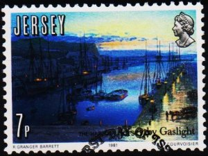 Jersey. 1981 7p S.G.279 Fine Used