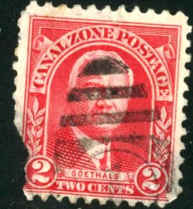 Canal Zone - SC #106 - Used Fault - 1928-40 - Item CZ005