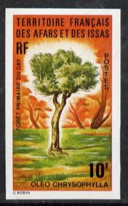 French Afars & Issas 1974 Forest Plants (10f Oleo Tre...
