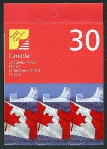 Canada SGSB228a 1998 13.80 Booklet Fresh U/M
