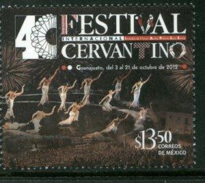 MEXICO 2793, CERVANTES FESIVAL, GUANAJUATO 40th ANNIVERSARY. MINT, NH. F-VF.