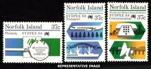 Norfolk Islands Scott 437-439 Mint never hinged.