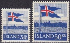 Iceland #313-4  MNH CV $9.50 (SU8011)
