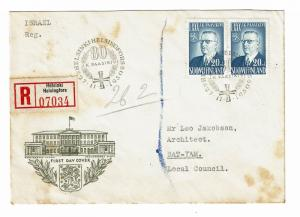 Finland 1950 Paasikivi First Day Cover  - Z45