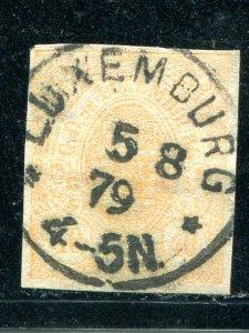 Luxembourg #12  Used   - Lakeshore Philatelics