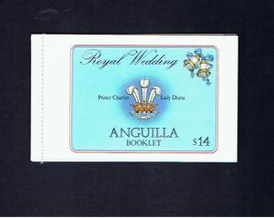 ANGUILLA 1981 ROYAL WEDDING BOOKLET