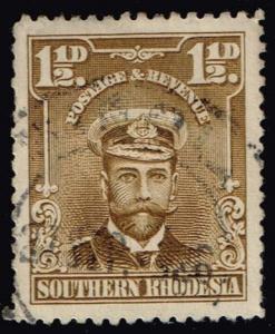 Southern Rhodesia #3 King George V; Used (0.90)