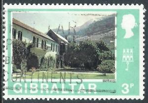 Gibraltar, Sc #251, 3d Used