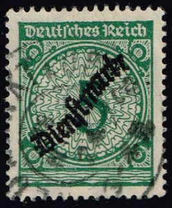 Germany #O48 Official; Used (3Stars)