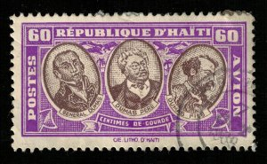 1935 Visit of French Delegation to West Indies, Haiti 60c (TS-909)
