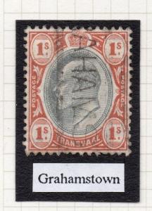 Transvaal Interprovincial Period Ed VII Postmark on 1S. Grahamstown 243845