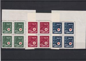 Croatia Red Cross  Mint Never Hinged Stamps Blocks ref R 18352