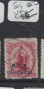 NIUE  (P3004B)  0N NZ  1 D  SG 4   VFU