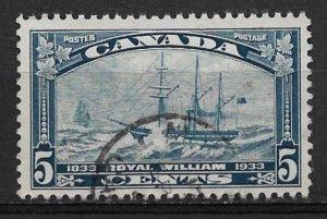 1933 Canada 204 Steamship Royal William used