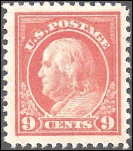 509 Mint,OG,NH... SCV $25.00... VF/XF