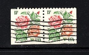 USA #1737  Booklet Pair  used