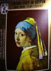 Head of a Girl by Vermeer