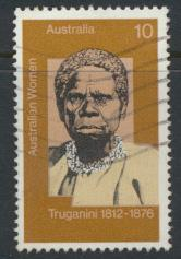 Australia  SC# 623a   Truganini Tasmanian Aborigine  Used see detail