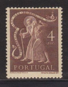 Portugal 726 F-VF-MH nice color cv $ 58 ! see pic !