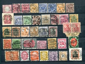 Germany Some very rare Cancels !! - Lakeshore Philatelics
