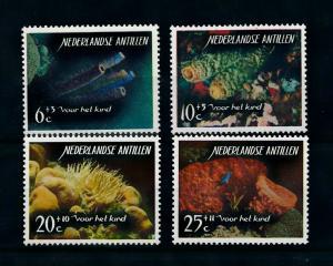 [99686] Netherlands Antilles Antillen 1965 Marine Life Corals  MNH