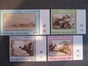 Pitcairn Islands #291-94 Mint Never Hinged - (1C9) WDWPhilatelic