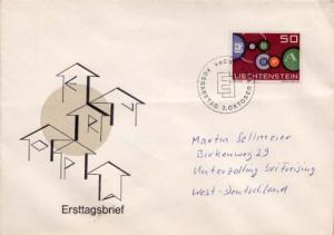 Liechtenstein, First Day Cover, Europa
