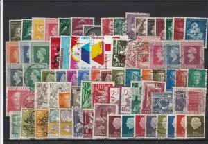 Netherlands Used Stamps Ref 24494
