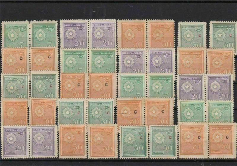 Paraguay 1927 Stamps Ref 14448