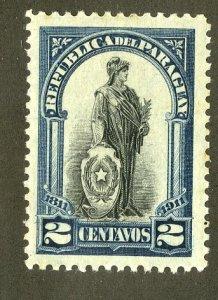 PARAGUAY 202  MH BIN $.45