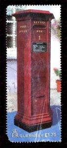 Guernsey 2002 Letter/Pillar Box 1v £1.75 Scott.768 Used